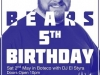 Dublin Bears Birthday