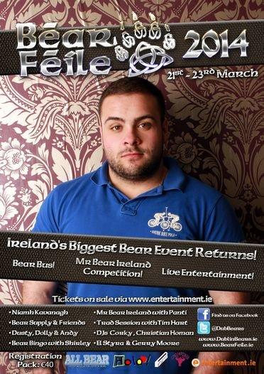 Bear Feile 2014 poster