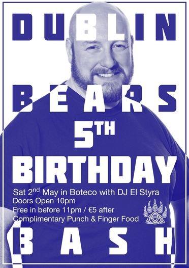Dublin Bears Birthday 2015