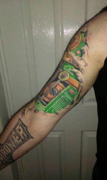 Alan tattoo