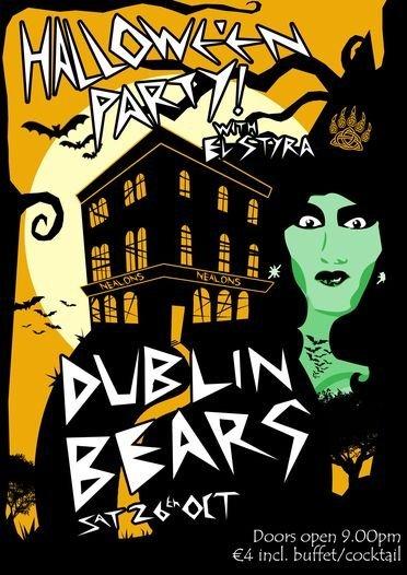 Dublin Bears Hallowe'en
