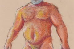 Nude man frontal - Jan 2021 - by Glenn Quigley