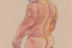 Nude man rear - Jan 2021 - by Glenn Quigley