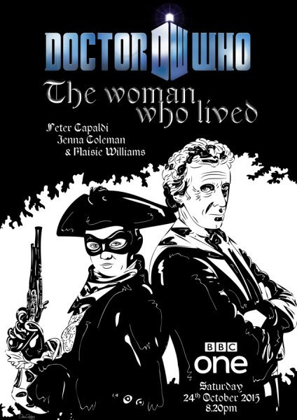 Doctor Who - The Woman Who Lived  by Glenn Quigley