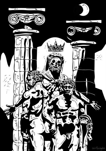 Hercules in Arcadia by Glenn Quigley