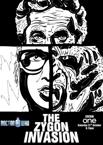 Doctor Who - The Zygon Invasion by Glenn Quigley