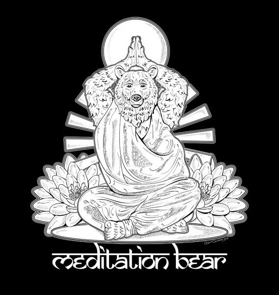 Meditating Bear - final - web