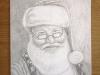 Santa Pencil Drawing final
