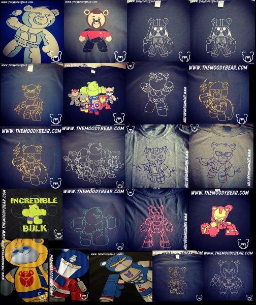 Moodybear tshirts