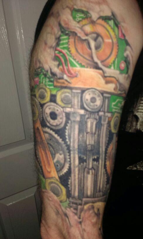 Alan Cudden arm tattoo 2014 (3)