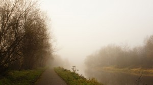 Foggy River Lagan Towpath