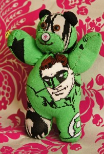 Green Lantern Sock Bear