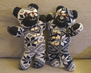 Winter Bear Twins