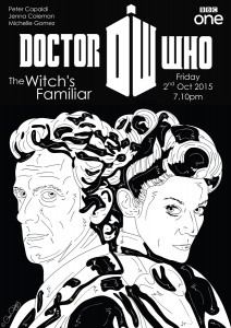 Doctor Who - The Witch's Familiar poster by Glenn Quigley