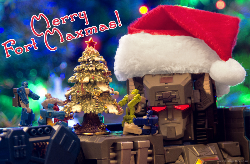 Transformerds Fort Maxmas