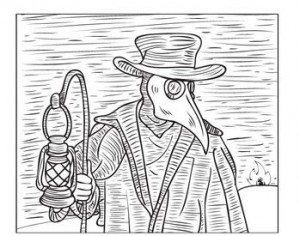 Plague Doctor of Forloren by Glenn Quigley - web